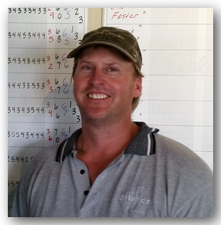 Net division golf tournment champ Jeff Cowling