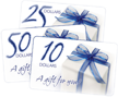 Golf Course Gift Certificates