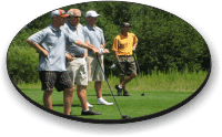 Foursome of Minnesota golfer