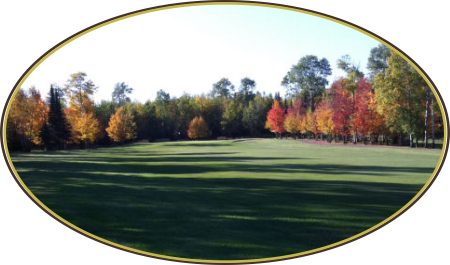 Hole number 2 at northern Minnesota Golf Course - Mesaba County Club