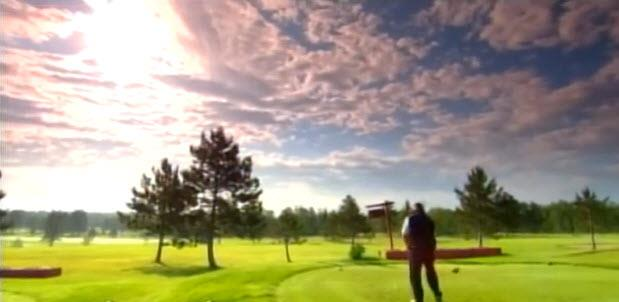 Image of a golfer playing at the Mesaba Country Club