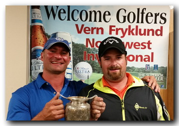 One club champs Shane Eastman and Jeff Stimac