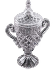 Crystal Golf Tournament Trophy
