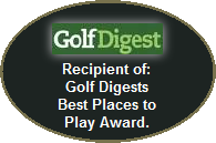 Golf Digest award for best places to play  golf