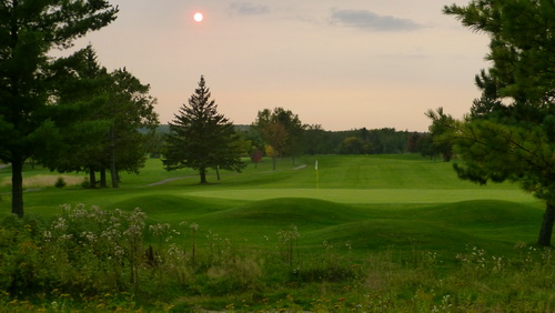 Image of Hole 4 at the Mesaba Country Club